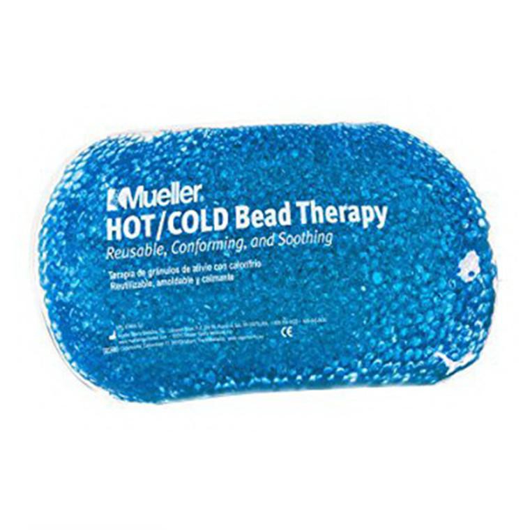 Mueller Bead Therapy Hot or cold Pack, Reusable Blue, 1 Ea
