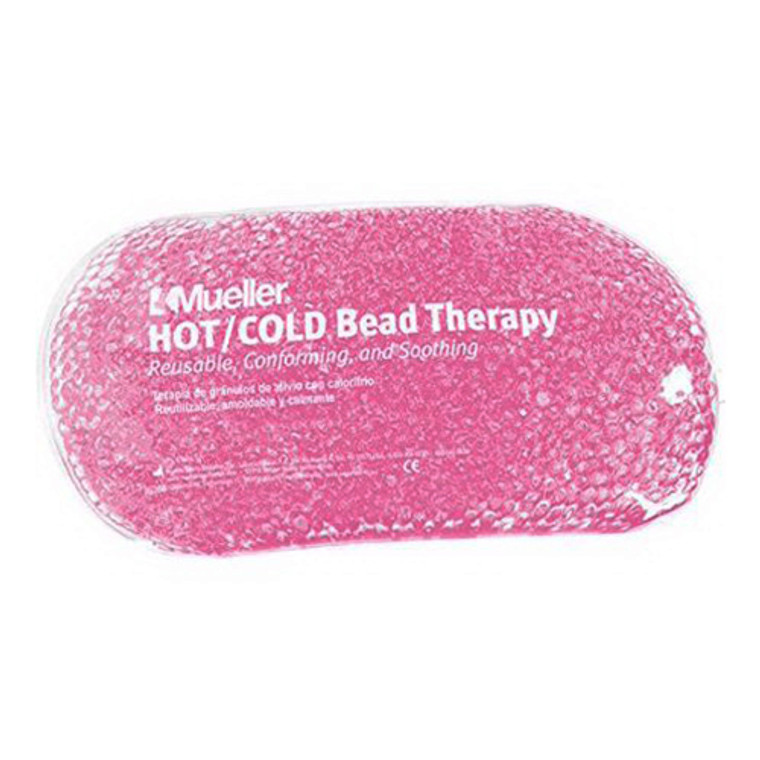Mueller Reusable Hot or Cold Bead Therapy Pack, Pink, 1 Ea