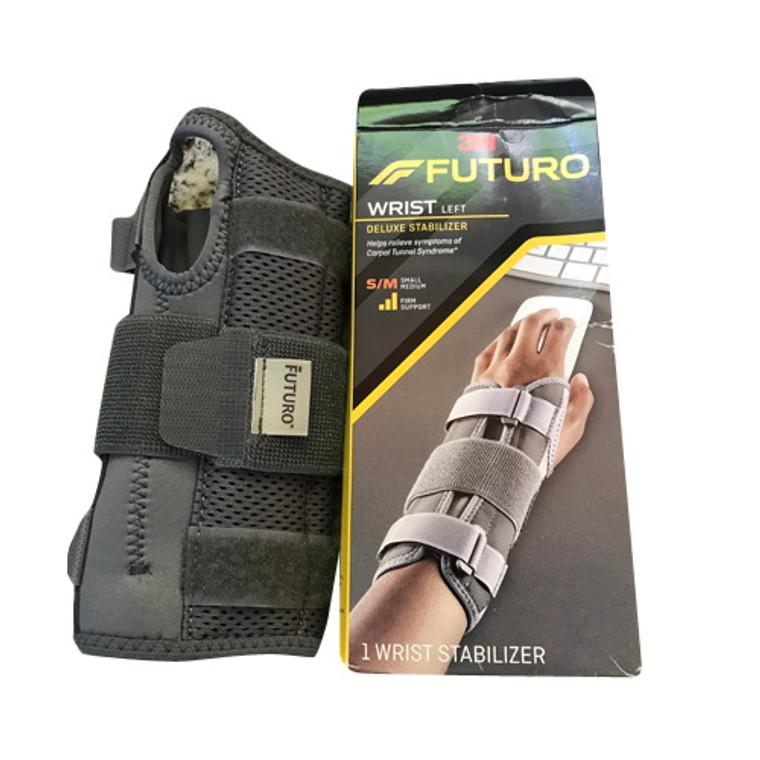 Futuro, Wrist Stabilizer Deluxe For Left Hand, Small/Medium Size: 5.5 - 7.5 Inches - 1 Ea