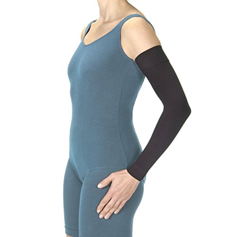 Jobst Medical Wear Armsleeve 20-30 Mm/Hg For Women: 6 7/8-9 1/4 Inch And Men: 11 3/8-13 1/4 Inch, Beige, Large - 1 Box
