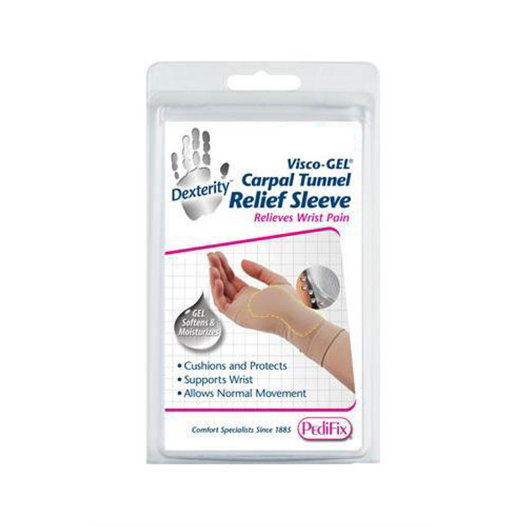 Pedifix Visco-Gel Carpal Tunnel Relief Sleeve, Large Right, 1 ea