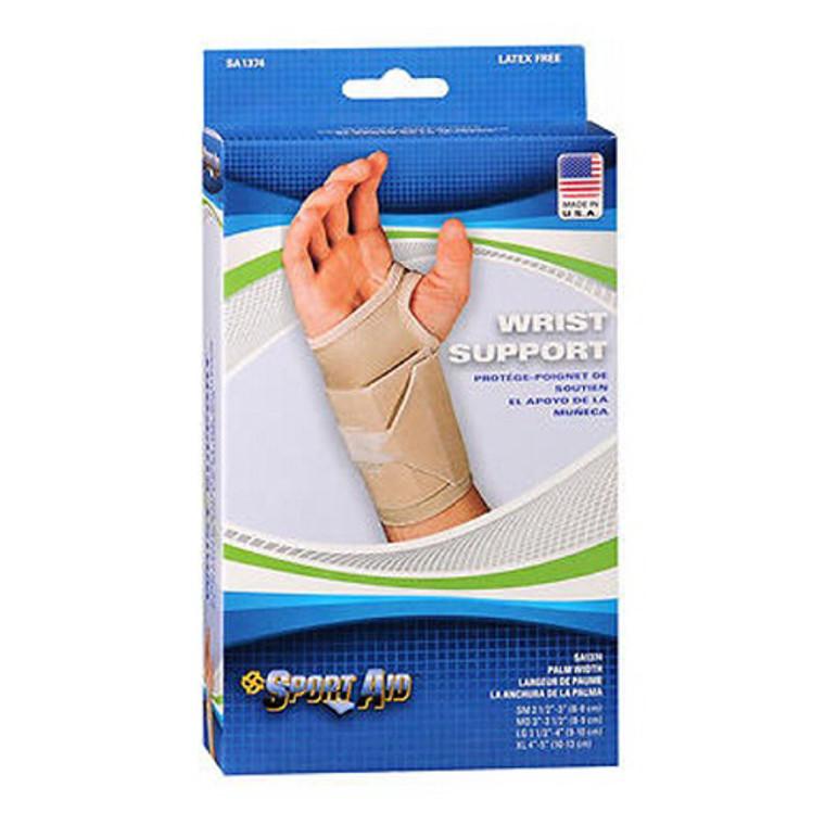 Sportaid Wrist Brace for Carpal Tunnel Beige, Left, Small, 1 Ea
