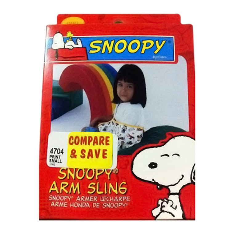 Sportaid Arm Sling, Snoopy, Medium, #4704Md - 1 Ea