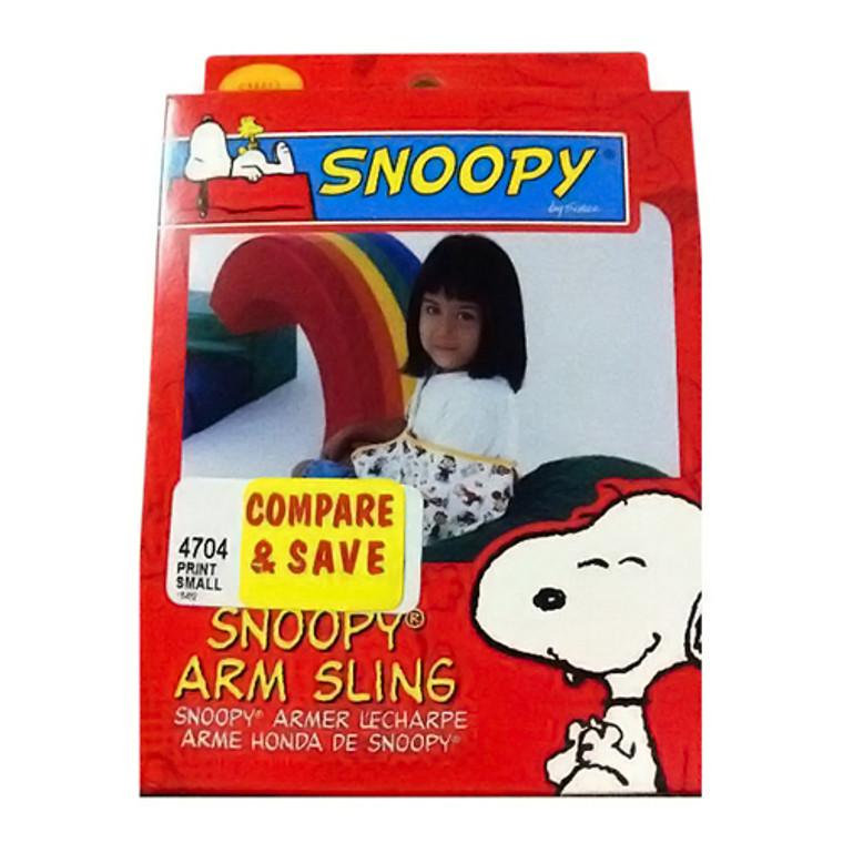 Sportaid Arm Sling, Snoopy, Small, #4704Sm - 1 Ea