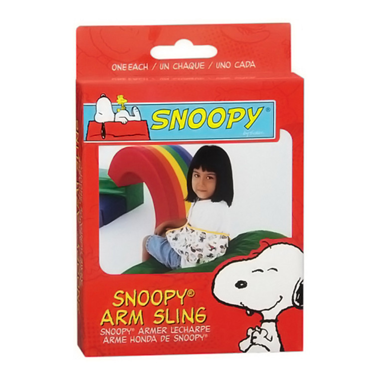 Sportaid Arm Sling, Snoopy, X-Small, #4704Xs - 1 Ea