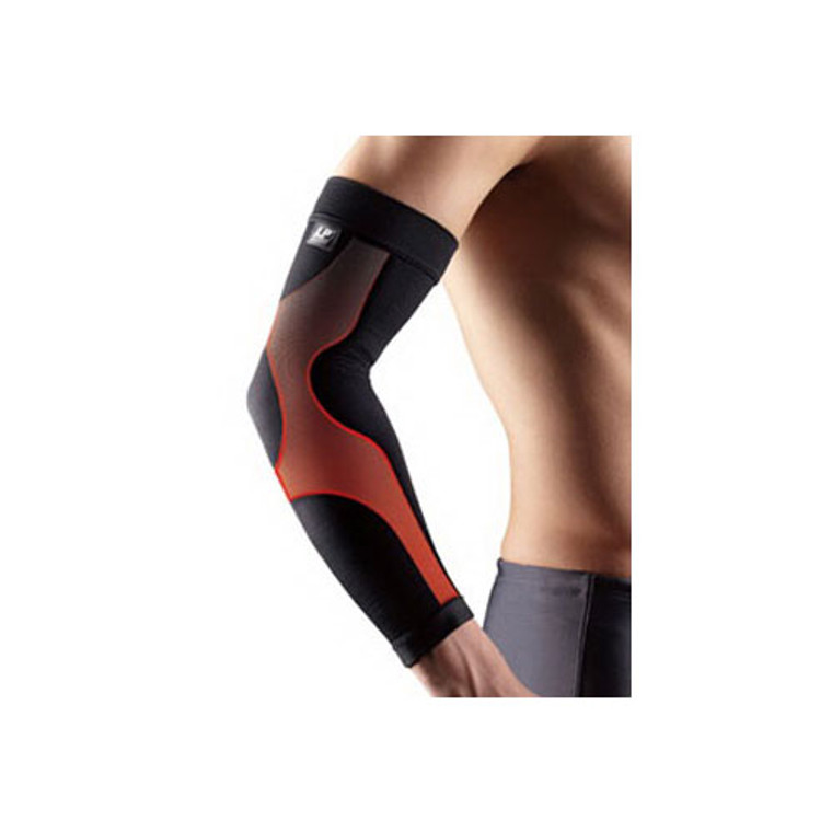 Lp Support Power Sleeve For Arm, Black, Large - 1 Ea