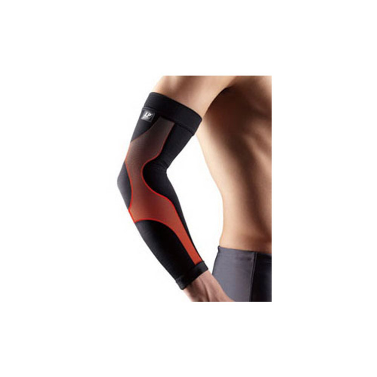 Lp Support Power Sleeve For Arm Sleeve Power Band, Black, Extra Large - 1 Ea