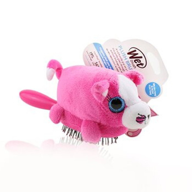 Wet Brush Plush Kitty Detachable Toy Hair Brush, 1 Ea