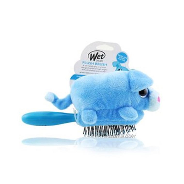 Wet Brush Hair Detangler Puppy Plush Hair Brush, Blue Puppy Dog, 1 Ea