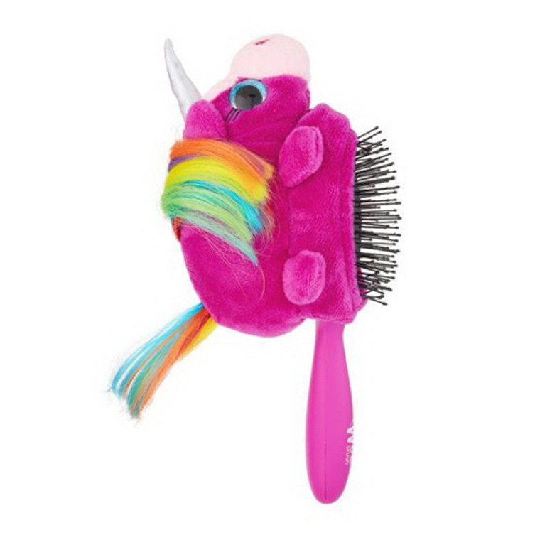 Wet Brush Plush Unicorn Detachable Hair Brush, 1 Ea