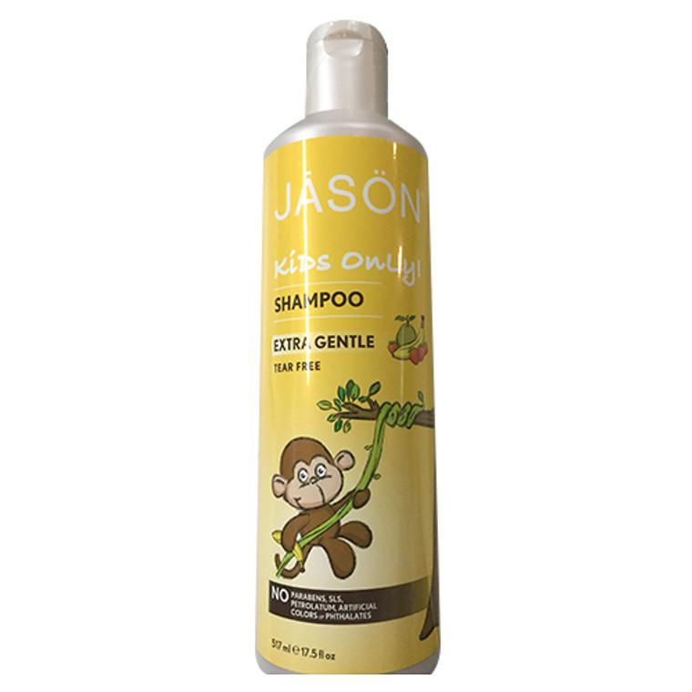 Jason Kids Only Extra Gentle Hair Shampoo - 17.5 Oz