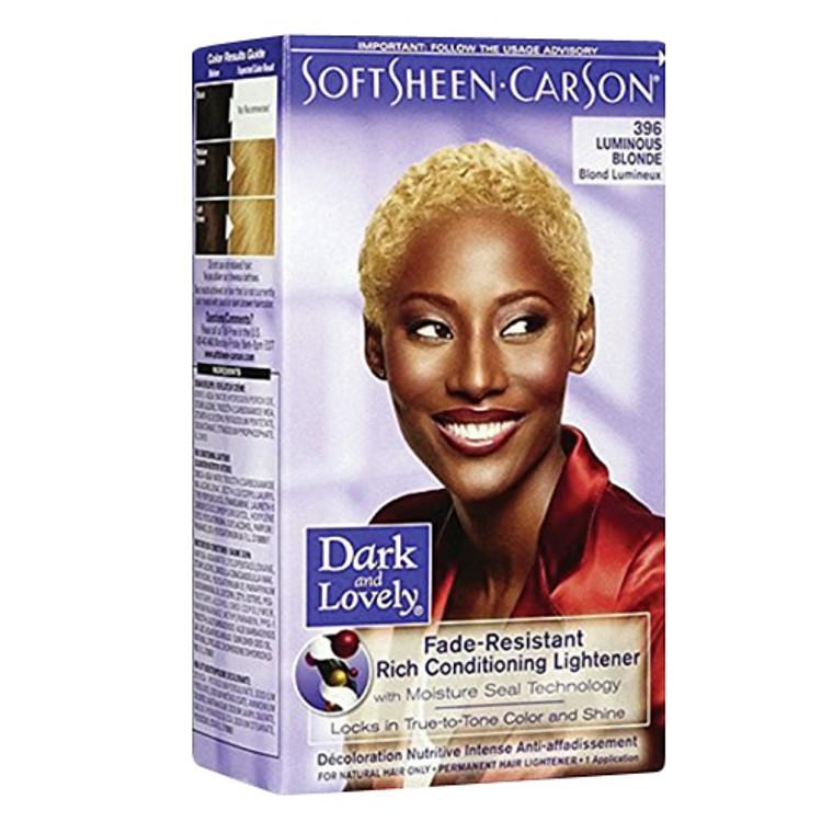 Softsheen Carson Dark And Lovely Reviving Colors Semi-Permanent Haircolor, Luminous Blonde 396 - Kit