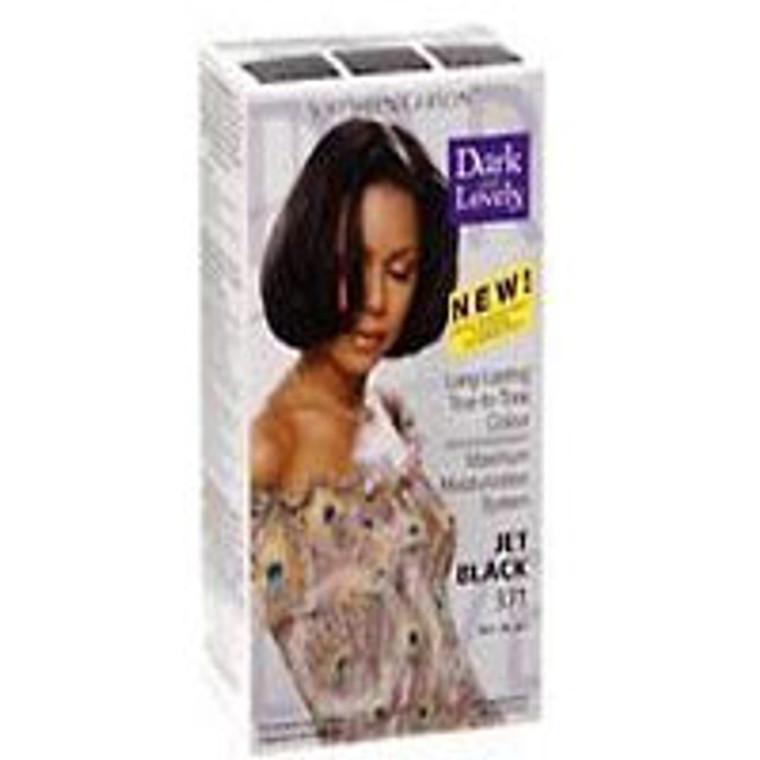 Softsheen Carson Dark And Lovely Permanent Hair Color, Jet Black, #371 Kit