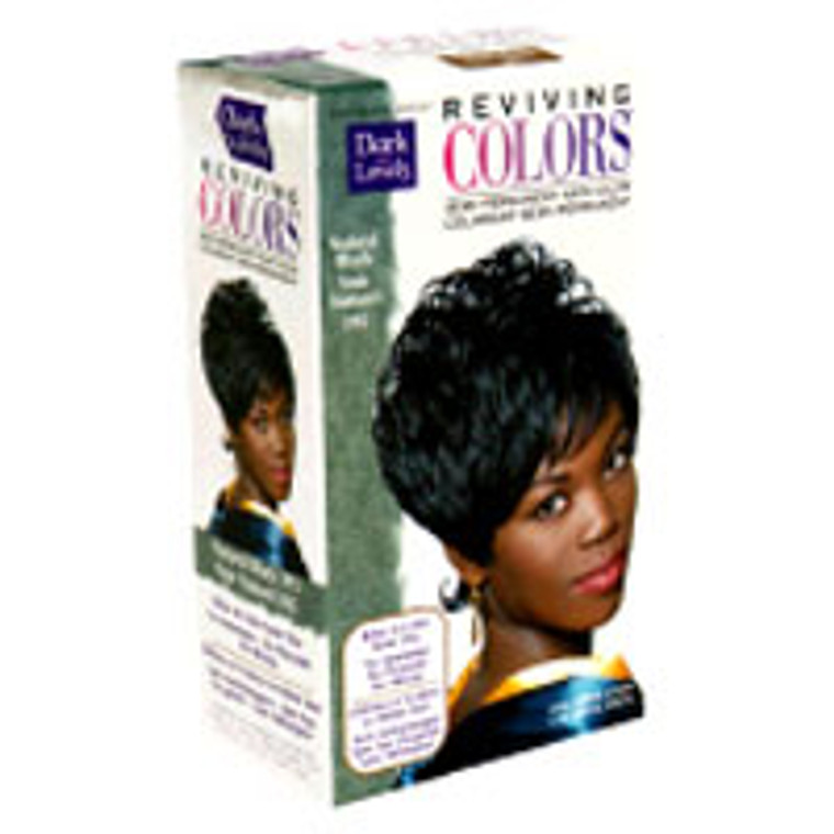 Softsheen Carson Dark And Lovely Reviving Hair Color, Clear Natural Black 372