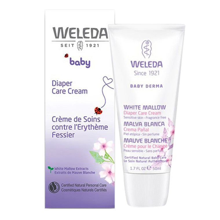 Weleda White Mallow Baby Diaper Care Cream 1.7 Oz