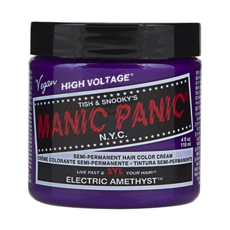 Manic Panic Semi Permanent Haircolor, Electric Amethyst, 4 Oz