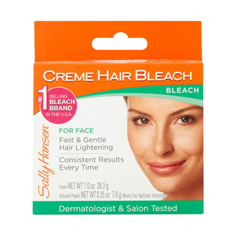 Sally Hansen Creme Hair Bleach for Face, 1 Ea