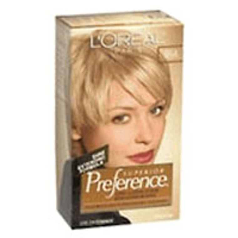 Loreal Superior Preference Hair Color, 9.5A Extra Light Ash Blonde - 1 Ea