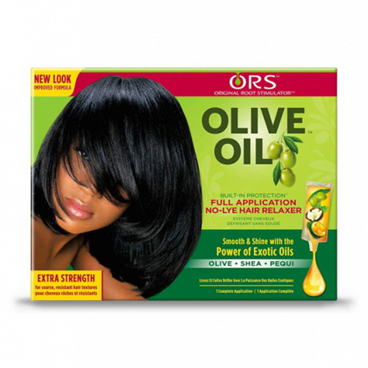 ORS Olive Oil Built-In Protection No-lye Relaxer Kit, Extra Strength, 1 ea