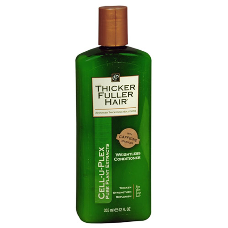 Thicker Fuller Hair Cell-U-Plex Weightless Conditioner - 12 Oz