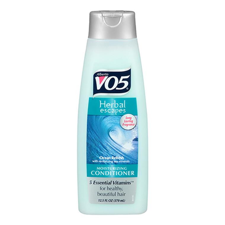 Alberto VO5 Herbal Escapes Ocean Refresh Moisturizing Conditioner, 12.5 Oz