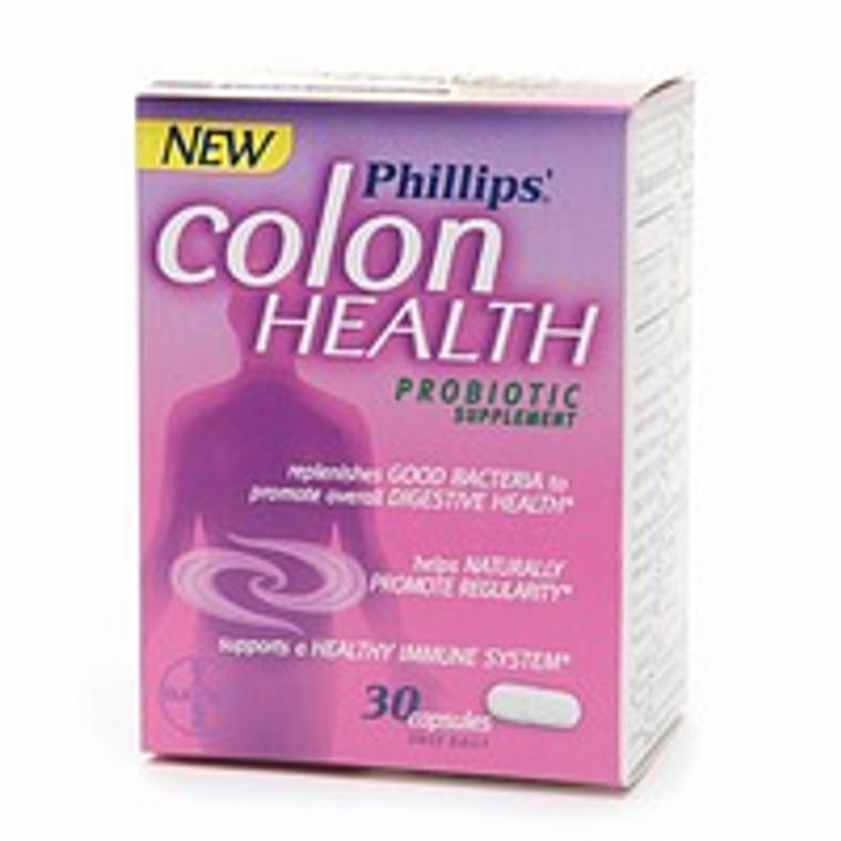 Phillips Colon Health Probiotic Supplement Capsules - 30 Ea