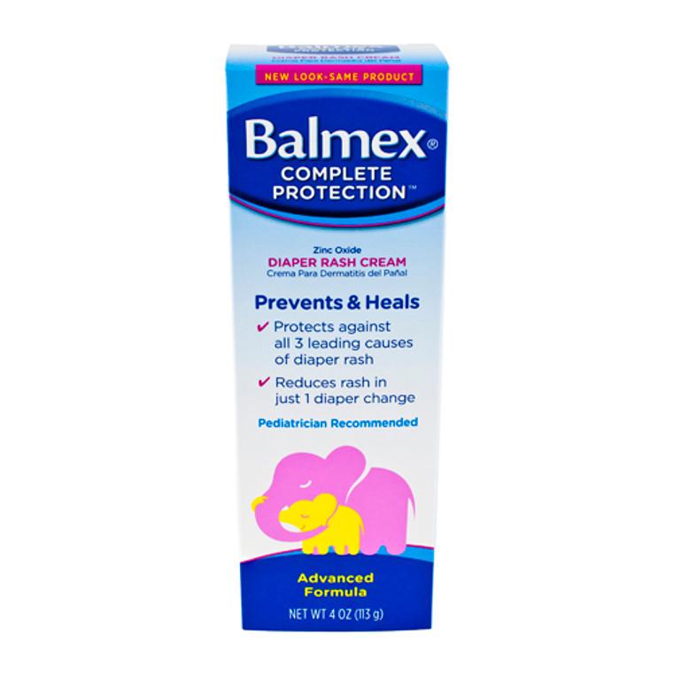 Balmex Complete Protection Diaper Rash Cream, 4 Oz