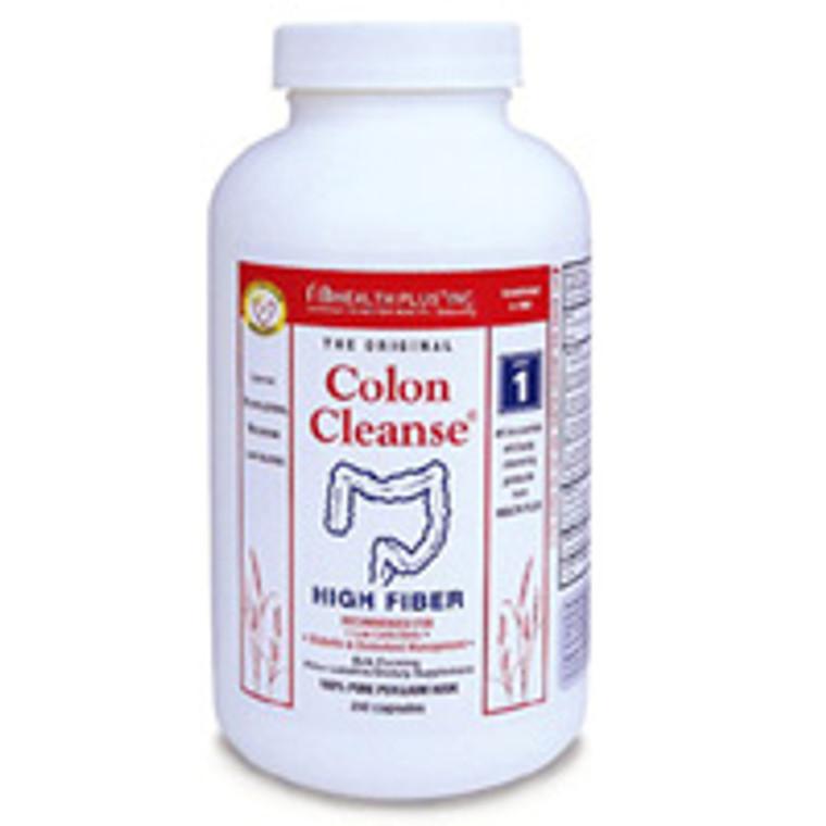 Health Plus Colon Cleanse, Plain, 625 Mg Relieves Constipation - 200 Caps