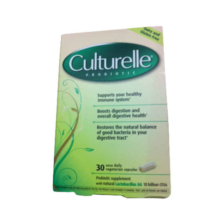 Culturelle Probiotic Natural Health And Wellness Capsules - 30 Ea