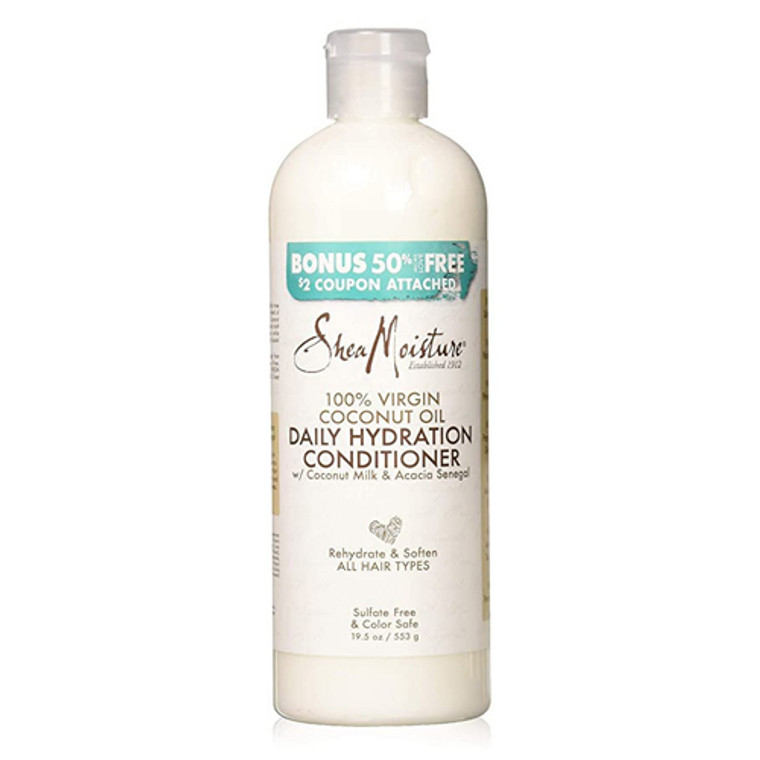 Coconut Oil Daily Hydration Hair Conditioner by Shea Moisture, 19.5 Oz