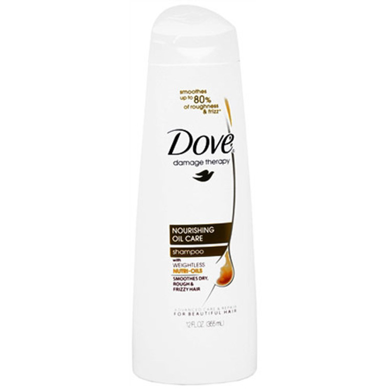 Dove Damage Therapy Nourishing Oil Care Hair Shampoo - 12 Oz