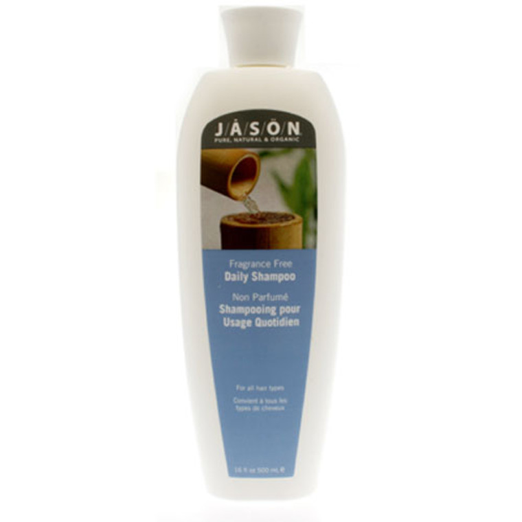 Jason Natural Daily Hair Shampoo For All Hair Types - 16 Oz
