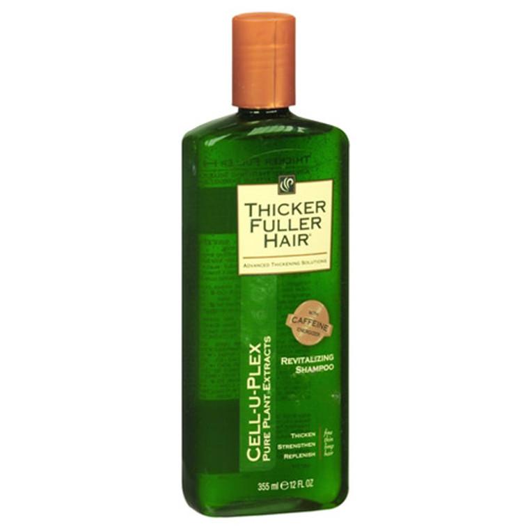 Thicker Fuller Hair Cell-U-Plex Revitalizing Shampoo - 12 Oz