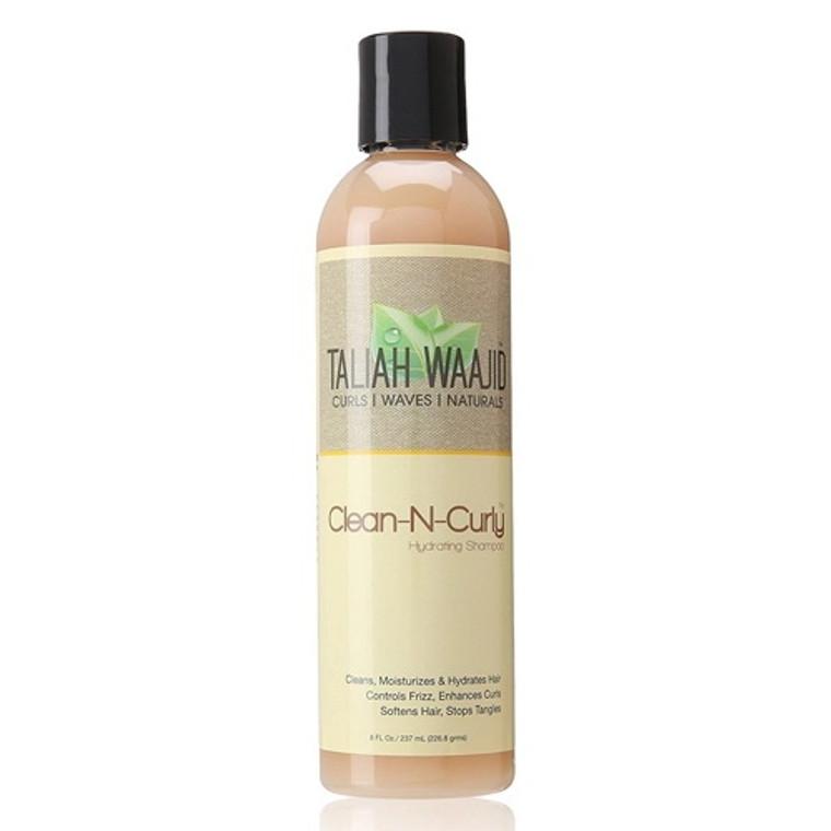 Taliah Waajid Clean-N-Curly Hydrating Shampoo, 8 Oz