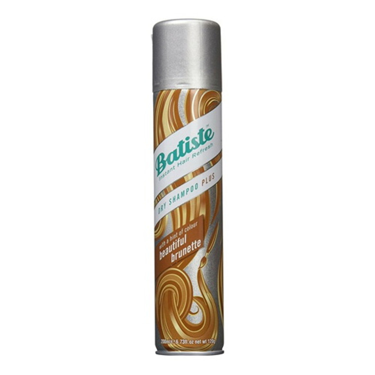 Batiste Dry Shampoo Plus With A Hint of Color Beautiful Brunette, 6.73 Oz