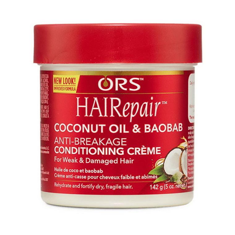 Organic Root Stimulator HaiRepair Anti-Breakage Leave-In Conditioning Creme, 5 oz