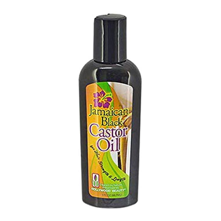 Hollywood Beauty Black Jamaican Castor Oil, 3 oz