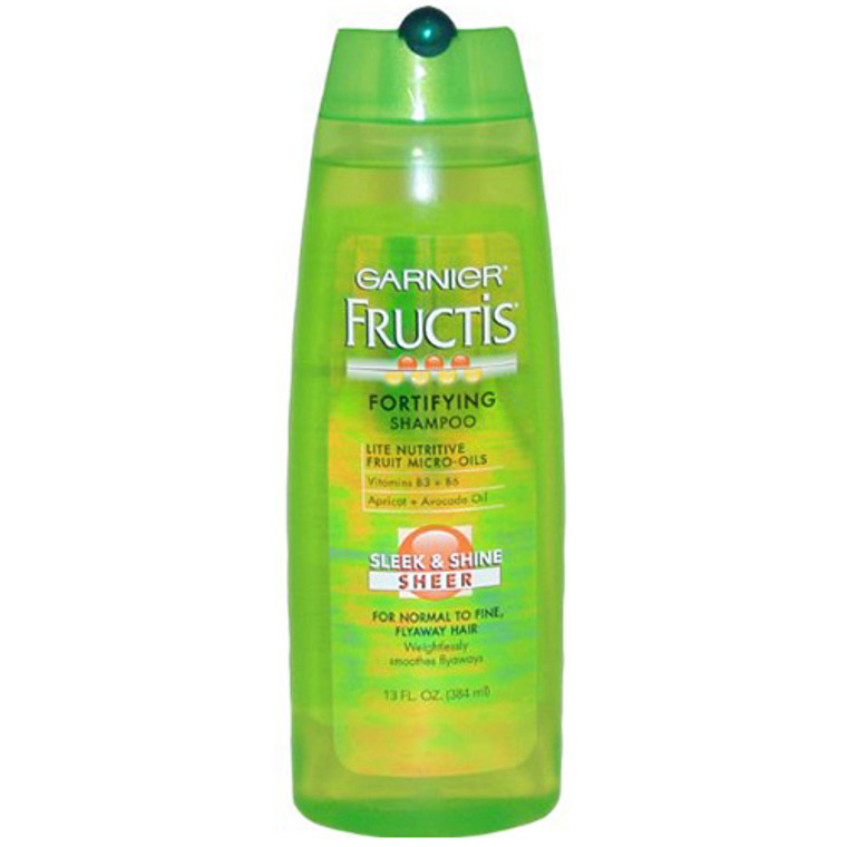 Garnier Fructis Fortifying Shampoo Sleek And Shine - 13 Oz