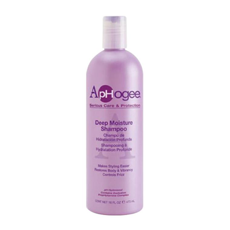 Aphogee Deep Moisture Shampoo Controls Frizz 16 Oz