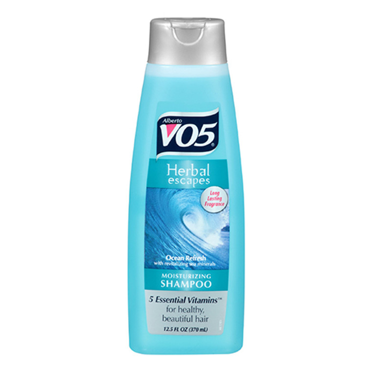 Alberto VO5 Herbal Escapes Ocean Refresh Moisturizing Shampoo, 12.5 Oz