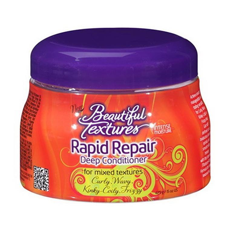 Beautiful Textures Rapid Repair Deep Hair Conditioner, Mixed Textures, 15 Oz