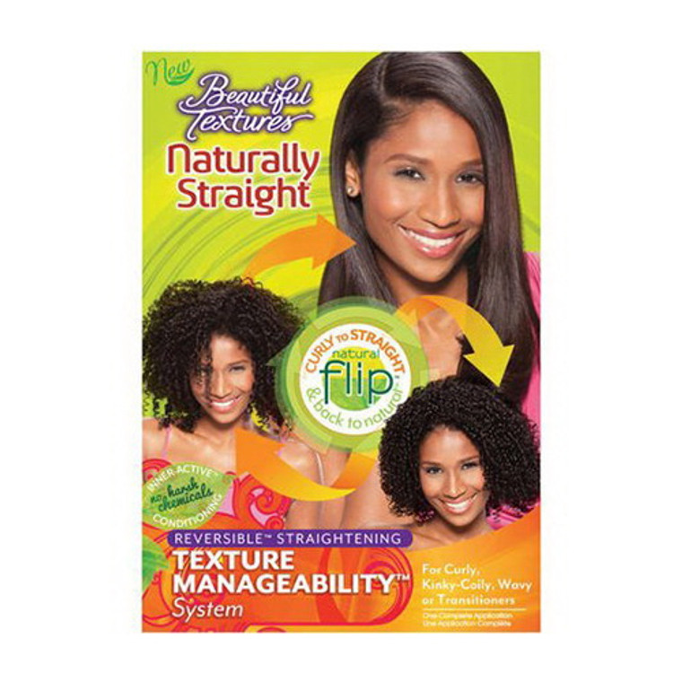 Beautiful Textures Naturally Straight Texture Hair Manageability System, 1 Ea