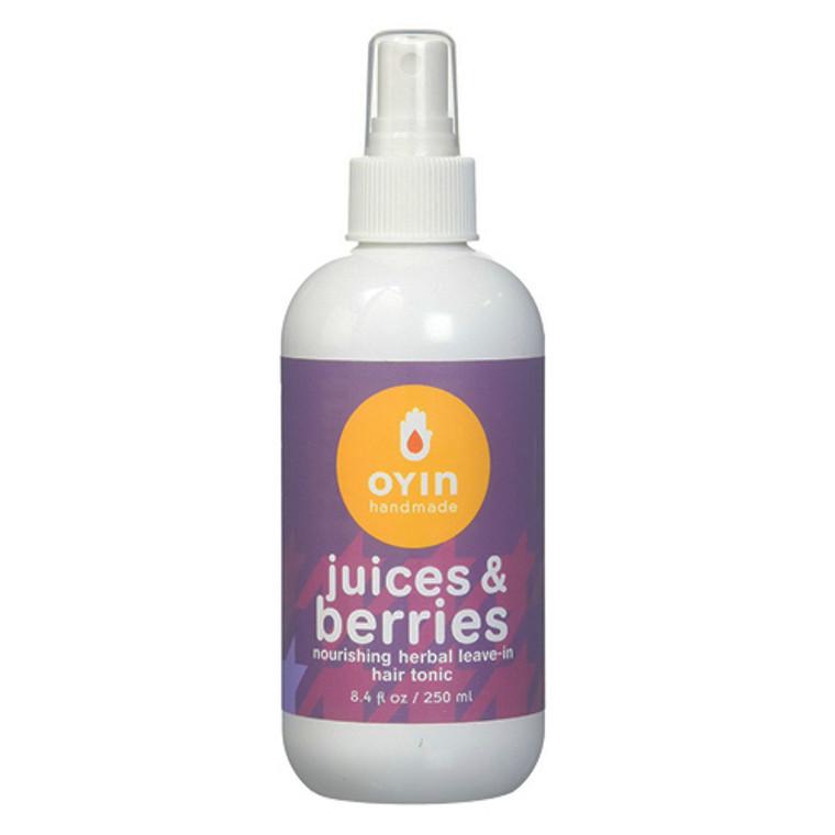 Oyin Handmade Juices and Berries Herbal Leave-In Hair Tonic, 8.4 oz