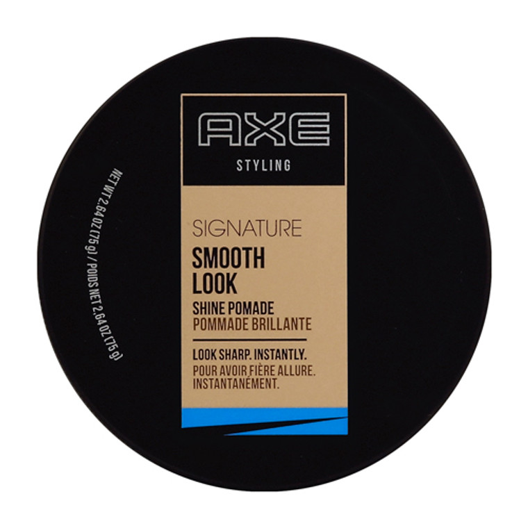 Axe Smooth Look Hair Shine Pomade Shine, 2.64 Oz
