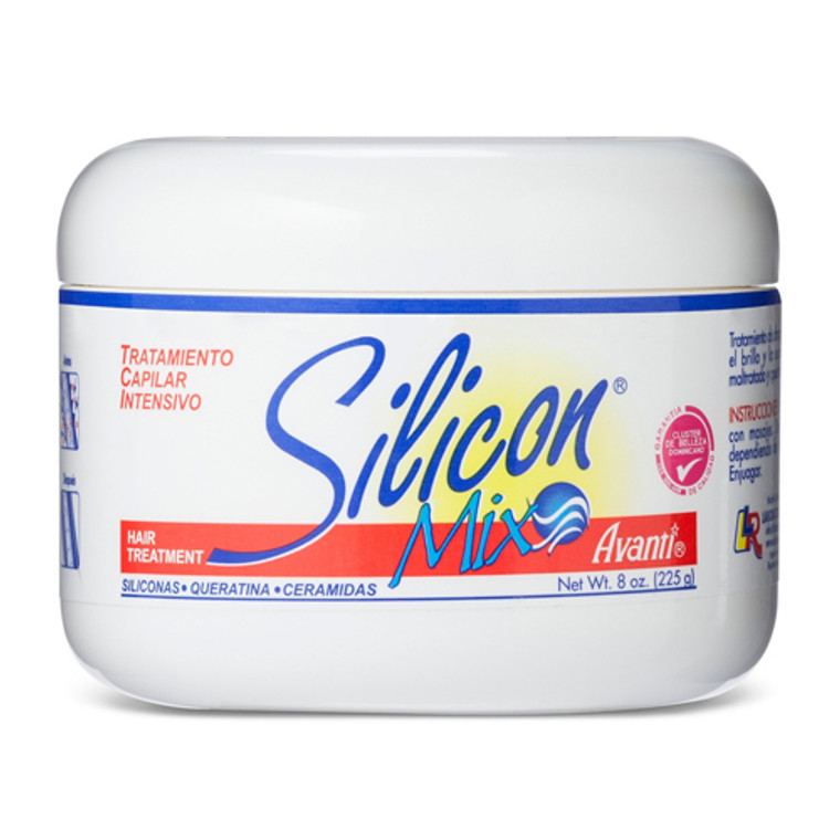 Silicon Mix Hair Treatment Jar For Damaged and Weak Hair  8 oz