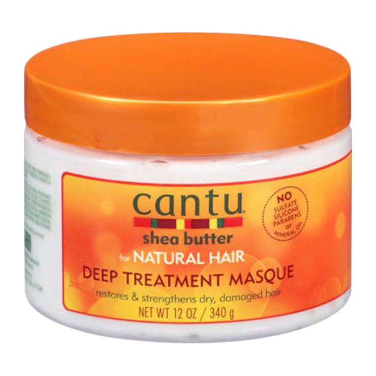Cantu Shea Butter Deep Treatment Masque For Natural Hair, 12 oz