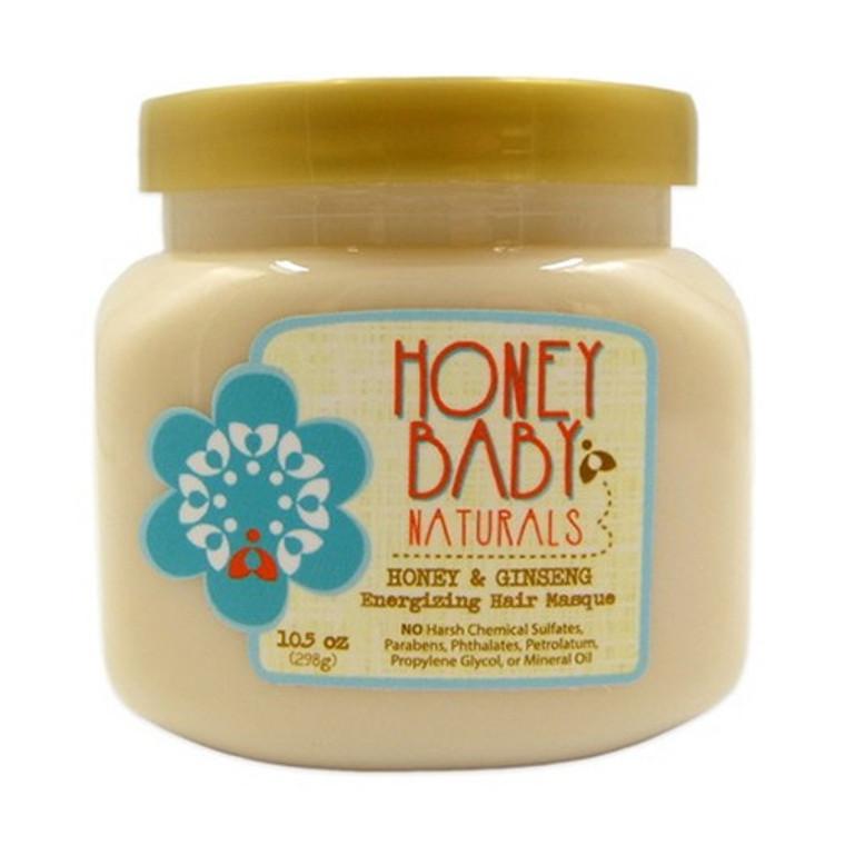 Honey Baby Naturals Honey And Ginseng Energizing Hair Masque, 10.5 Oz