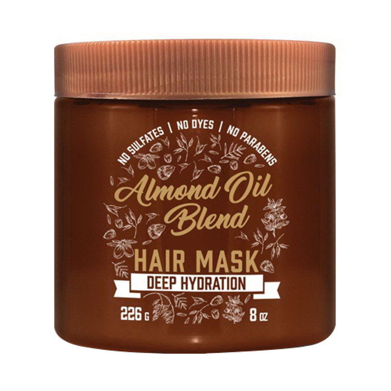 Aveeno Deep Hydration Almond Oil Blend Hair Mask, 8 Oz