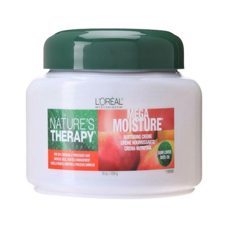 Loreal Natures Therapy Mega Moisture Creme, 16 oz
