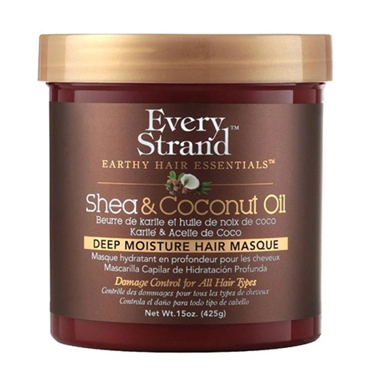 Every Strand Shea and Coconut Oil Deep Hair Masque, 15 Oz